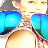 Ochelari de Soare Unisex Aviator Oglinda Mirror UV Protection SUMMER 2016, Rotunzi, Protectie UV 100%