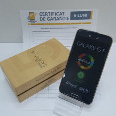 Samsung Galaxy S5 Gold Nou! Pachet Complet! Factura si Garantie! - Telefon mobil Samsung Galaxy S5, Auriu, 16GB, Neblocat, Single SIM