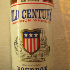 whisky - Whiskey  bourbon, old century, cl.70 gr.40