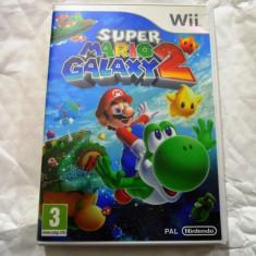 Joc Super Mario Galaxy 2, pentru Wii, original, PAL, alte sute de jocuri! - Jocuri WII Altele, Actiune, 3+, Single player