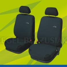 Husa Auto - Huse scaune auto tip maieu fata Graphite Airbag, 2 bucati