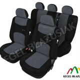 Set huse scaune auto SportLine Gri pentru Opel Astra F Astra G Astra H - Husa Auto