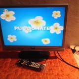 Televizor LCD, 22 inchi (56 cm), HDMI, Intrare RF, Scart, VGA - TV LCD 19 INCH SYTEK Y19W + TELECOMANDA NOUA IN TIPLA