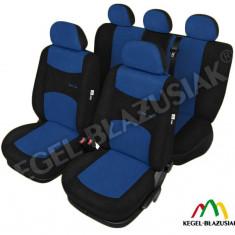 Husa Auto - Set huse scaune auto SportLine Albastru pentru Hyundai I10
