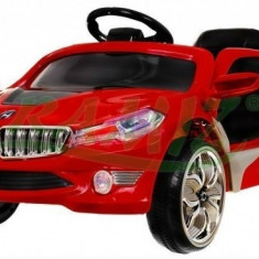Masinuta electrica copii, Rosu - Vehicul cu acumulator BMW i8 Ramiz Rosu