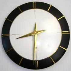 Ceas vintage anii 80 quartz design deosebit(700) - Ceas de perete