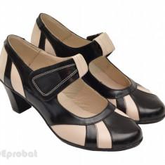 Pantofi dama eleganti - casual din piele naturala cod P33 - Made in Romania