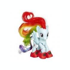 Figurina Povesti - My Little Pony - Set Ponei Rainbow Dash Turista