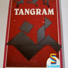 Joc de perspicacitate / logica / matematica distractica - joc traditional chinezesc Tangram(622) - Jocuri Logica si inteligenta