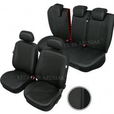 Husa Auto - Huse scaune auto imitatie piele Kia Cee\'d set huse fata + spate