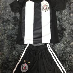 Set echipament fotbal - Echipament fotbal/compleu copii Partizan Belgrad (tricou + sort)REDUCERE DE PRET