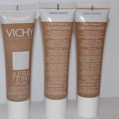Vichy AeraTeint Pure Fond de Ten Crema Finisaj natural timp de 12 ore