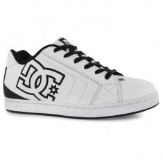 Adidasi barbati Dc Shoes, Piele naturala - Adidasi tenisi tenesi skate DC Shoes Net ORIGINALI masura 40