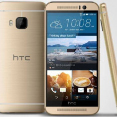 Telefon HTC - HTC One M9+, 5.2 inch, 32 GB, 4G, Android 5.0, silver gold