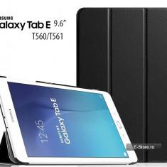 Husa Ultra Slim Samsung Galaxy Tab E 9.6 T560 T561 neagra (cod:USNT56) - Husa Tableta