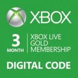 Abonament XBOX Live Gold 3 luni - Cod Digital
