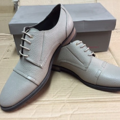 Pantofi barbati, Piele naturala - Pantofi PIELE NATURALA georgio marime 43 crem