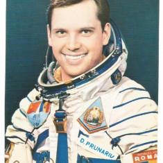 @carte postala(cod 3761/81)-DUMITRU PRUNARIU primul cosmonaut roman - Carte Postala Moldova dupa 1918, Necirculata, Printata