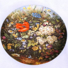 Farfurie - decorativa / colectie - portelan Bavaria - Furstenberg - 1989