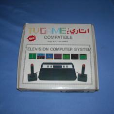 Consola Joc TV Rambo Clona Atari 2600 anii 80' cu jocuri in memorie