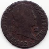 Regatul Spaniei - 2 Maravedis 1830 - Ferdinand al VII-lea, Europa