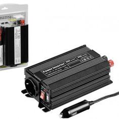 Invertor de la 12V DC la 230V AC, 300W unda sinus modulat -... - Invertor Auto