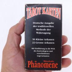 Carti poker Piatnik - Carti de tarot Germane.Set complect, 78 buc.+cateva infoliate.
