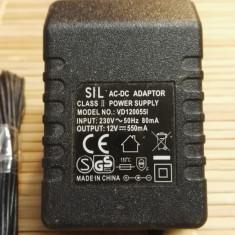 Alimentator Incarcator Sil 12V 550mA VD120055I