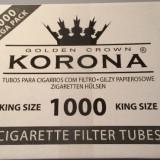 Foite tigari - Tuburi Korona