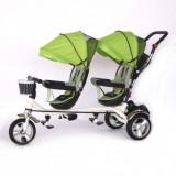 Tricicleta Skutt ESSEDA DUO pentru doi Copii/Gemeni