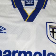 Tricou echipa fotbal, De club, Maneca scurta - Tricou Umbro fotbal - AC PARMA (Italia)