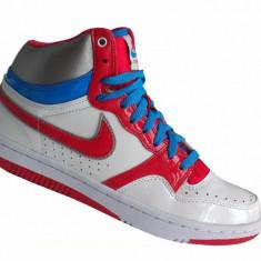 Bascheti originali NIKE COURT FORCE - Ghete dama Nike, Marime: 38, 40, 38.5, Culoare: Din imagine, Piele naturala