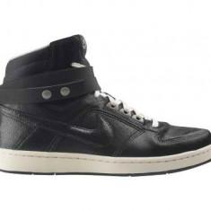 Bascheti originali NIKE DELTA LITE - Adidasi dama Nike, Marime: 39, 40, 38.5, Culoare: Negru, Piele naturala