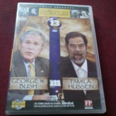 FILM DVD PERSONALITATI CARE AU MARCAT ISTORIA LUMII GEORGE BUSH NR 13 - Film documentare Altele, Romana