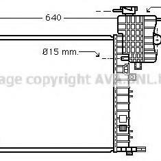 Radiator, racire motor MERCEDES-BENZ V-CLASS V 200 CDI - AVA QUALITY COOLING MS2336