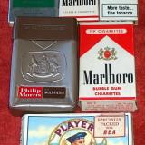 6 pachete de ţigări, de colecţie, din anii '60