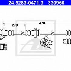 Furtun frana REINZ NISSAN PULSAR I hatchback 1.4 S, GX, LX - ATE 24.5283-0471.3
