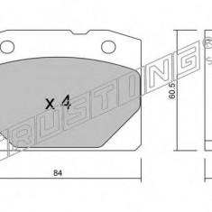 Placute frana INA LADA 1200-1600 1200 L/S - TRUSTING 008.0
