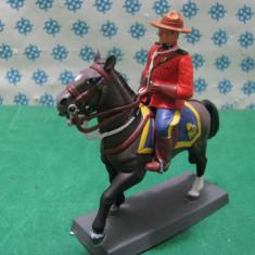Calaret din plumb - Royal Mounted Policeman - Canada 1970