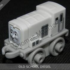 Fisher Price - Thomas and Friends Minis - trenulet jucarie OLD SCHOOL DIESEL - Trenulet de jucarie Fisher Price, Metal, Unisex