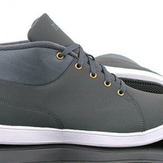 Bascheti originali NIKE DEL RAY - Ghete barbati Nike, Marime: 41, Culoare: Gri, Piele naturala