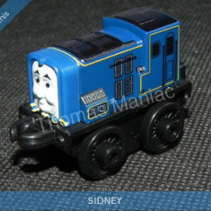 Fisher Price - Thomas and Friends Minis - trenulet jucarie SIDNEY - Trenulet de jucarie Fisher Price, Metal, Unisex