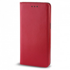 HUSA LG K8 ROSU SMART MAGNET - Husa Telefon Philips, Universala, Negru, Piele Ecologica