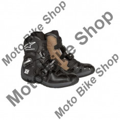 MBS Cizme moto Alpinestars TECH2, negru, 10=44.5, Cod Produs: 2018071010AU - Cizme barbati