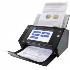Scanner Fujitsu N7100 Netzwerkscanner, ADF, LCD, CIS, Negru