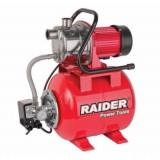 "Raider Hidrofor inox cu rezervor presiune, 1200W, 1"", debit 64l/min, 3bar, RD-WP1200"