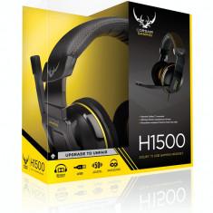 Casti Corsair Gaming H1500 Wireless, 7.1, cu microfon, negre - Casti PC