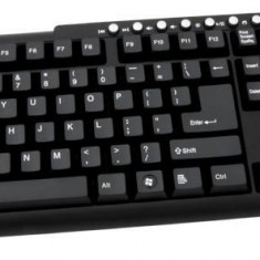 Tastatura ESPERANZA Boston, multimedia, USB, neagra