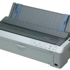 Imprimanta matriciala Epson FX-2190, 18 pins, 136 coloane, original+6 copii(pull tractor), 566 cps - Imprimanta matriciale