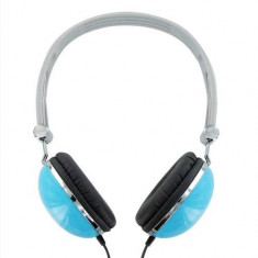Casti 4World Colors 06530, headphones, albastre - Casti PC